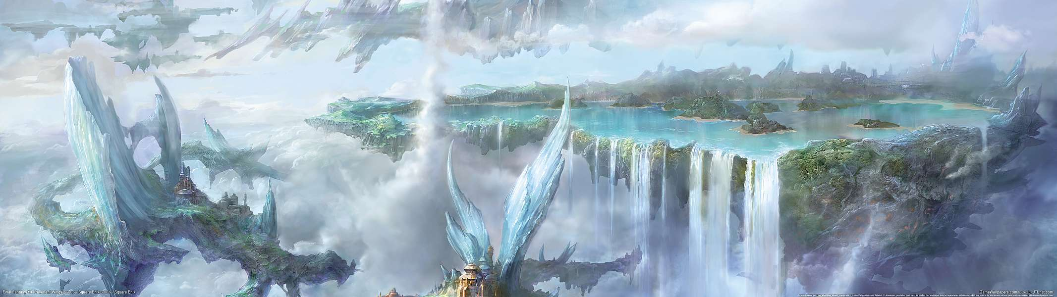 Final Fantasy 12: Revenant Wings dual screen wallpaper or background
