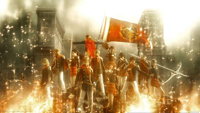 Final Fantasy Type-0 wallpaper or background 02