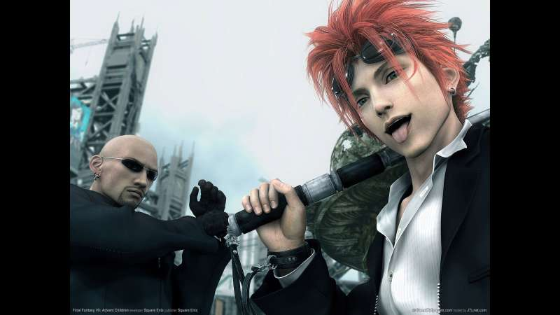 Final Fantasy VII: Advent Children wallpaper or background 04
