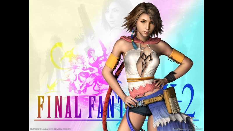 Final Fantasy X-2 wallpaper or background 02