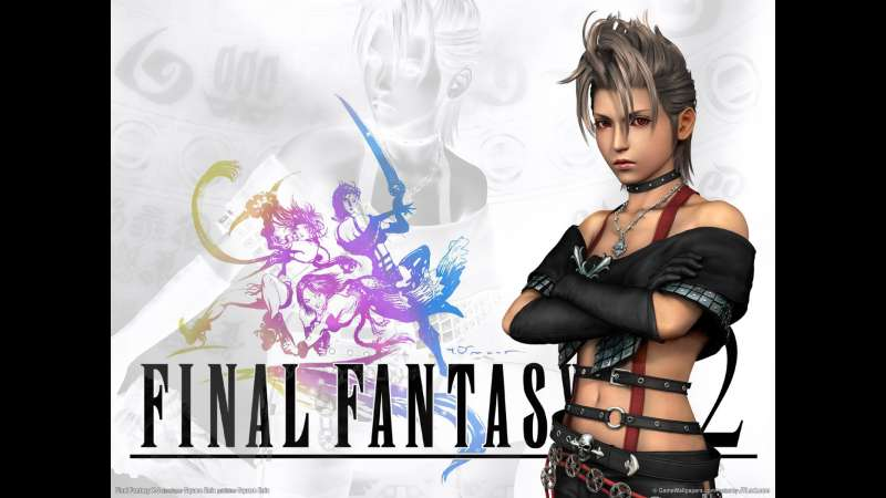 Final Fantasy X-2 wallpaper or background 03