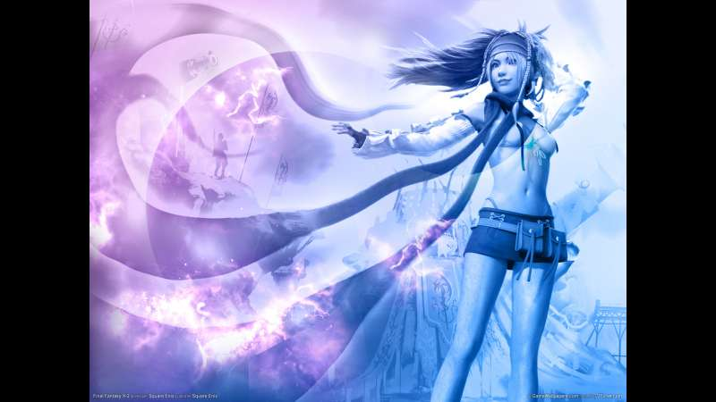 Final Fantasy X-2 wallpaper or background 08