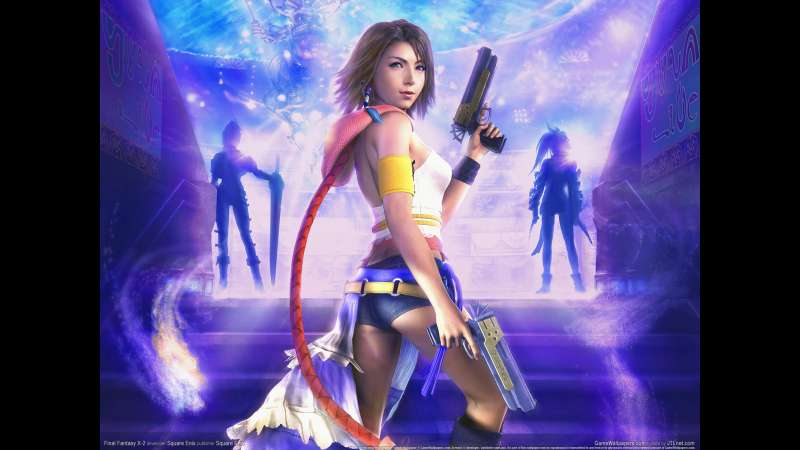 Final Fantasy X-2 wallpaper or background 10