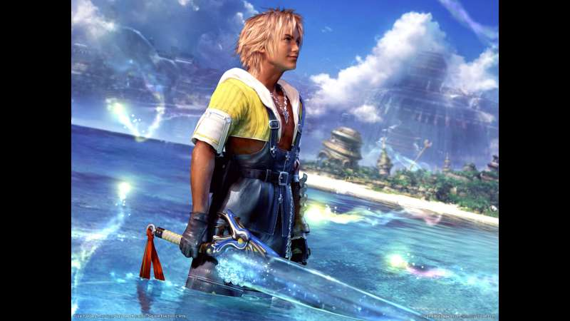 Final Fantasy X wallpaper or background 02