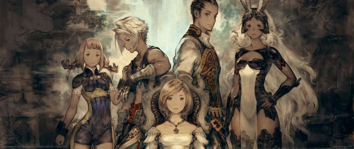 Final Fantasy XII The Zodiac Age ultrawide wallpaper or background 01