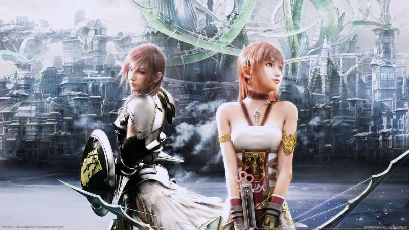 Final Fantasy XIII - 2 wallpaper or background 01
