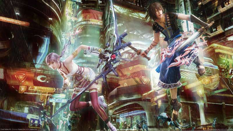 Final Fantasy XIII - 2 wallpaper or background 03