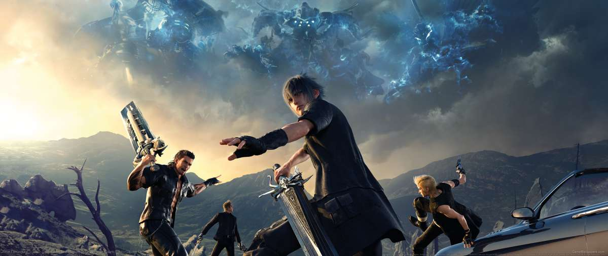 Final Fantasy XV Ultrawide Wallpaper Or Background 03