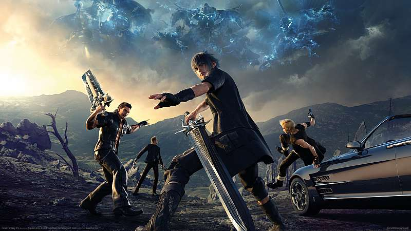 Final Fantasy XV wallpaper or background