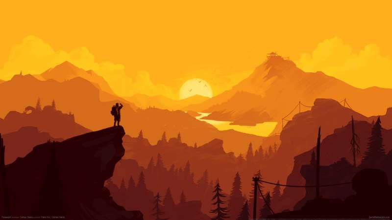 Firewatch wallpaper or background 01