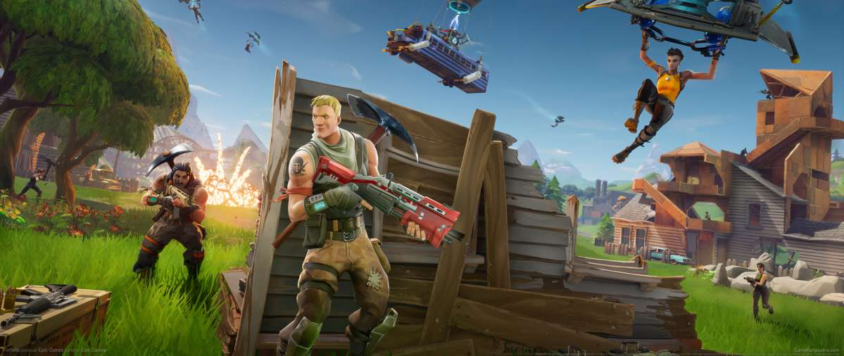 Fortnite wallpaper or background