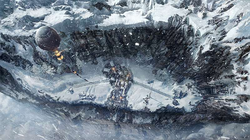 Frostpunk: On the Edge wallpaper or background