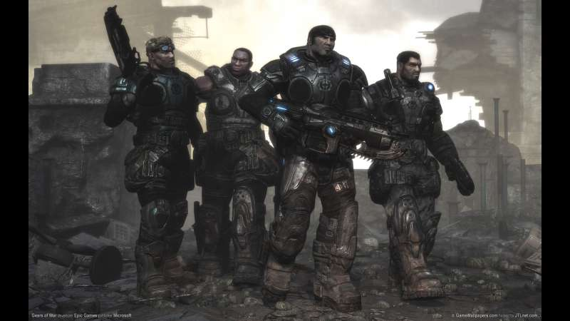 Gears of War wallpaper or background 08