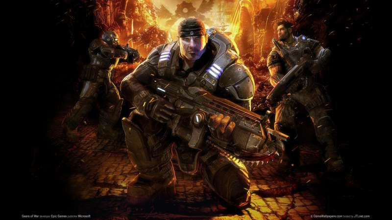 Gears of War wallpaper or background 09
