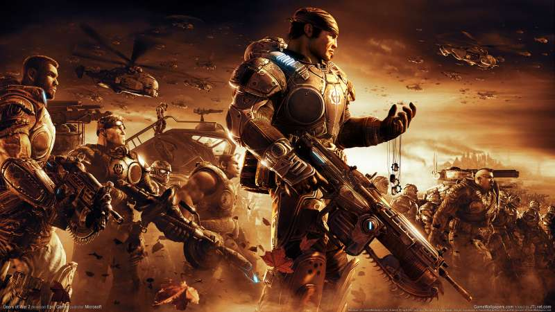Gears of War 2 wallpaper or background 01