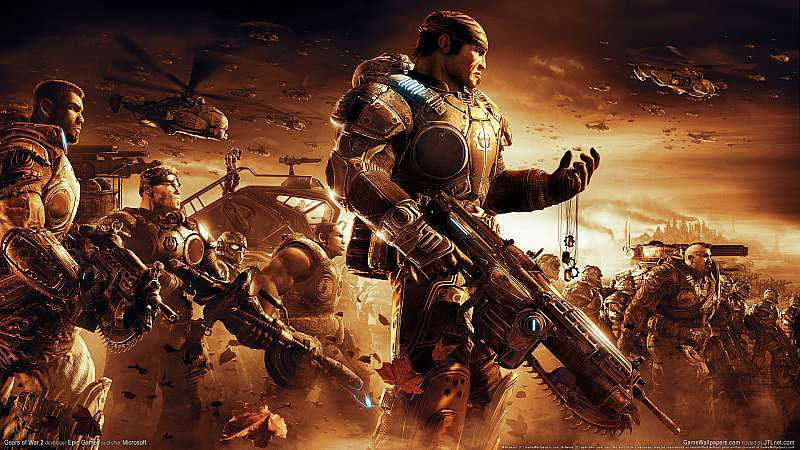 Gears of War 2 wallpaper or background