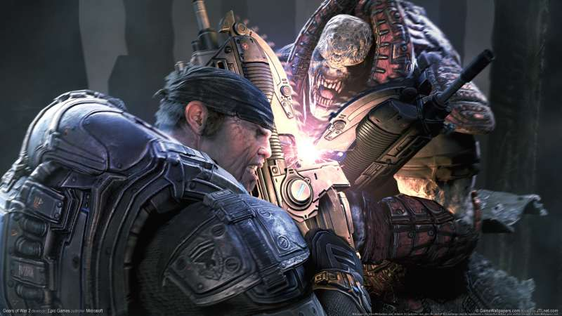 Gears of War 2 wallpaper or background 05