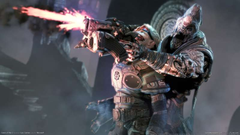 Gears of War 2 wallpaper or background 08