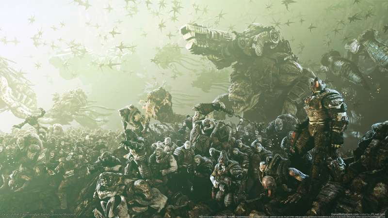 Gears of War 2 wallpaper or background 10