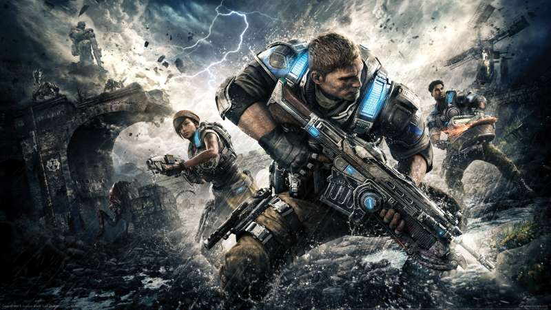 Gears of War 4 wallpaper or background 02