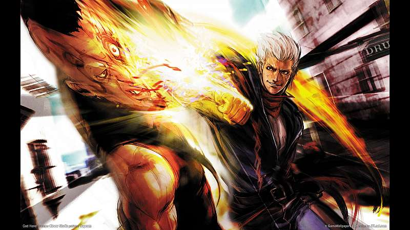 God Hand wallpaper or background