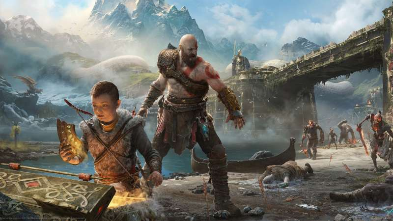 God of War 2017 wallpaper or background 07