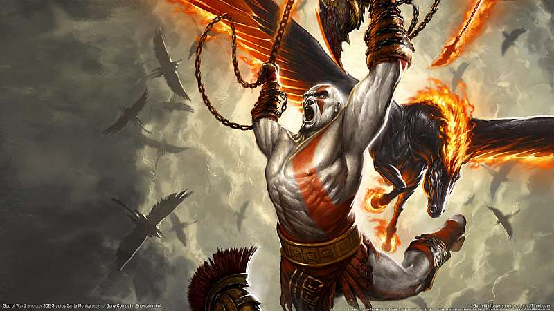 God of War 2 wallpaper or background