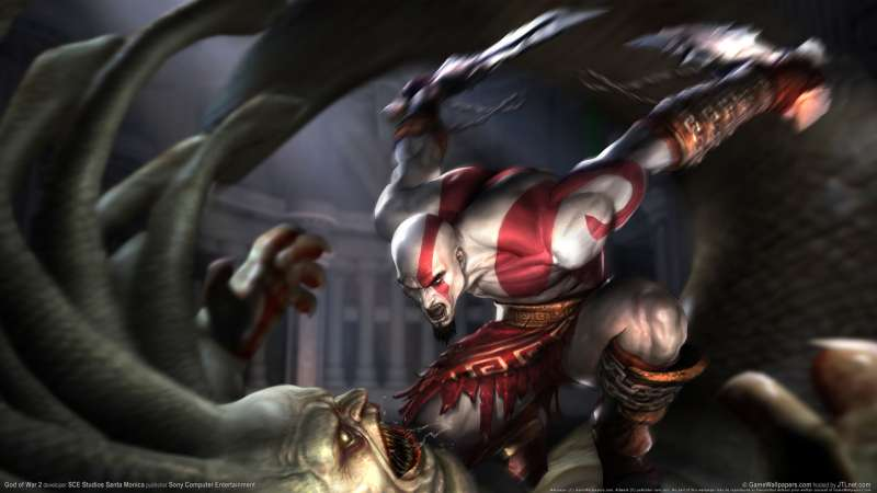 God of War 2 wallpaper or background 06
