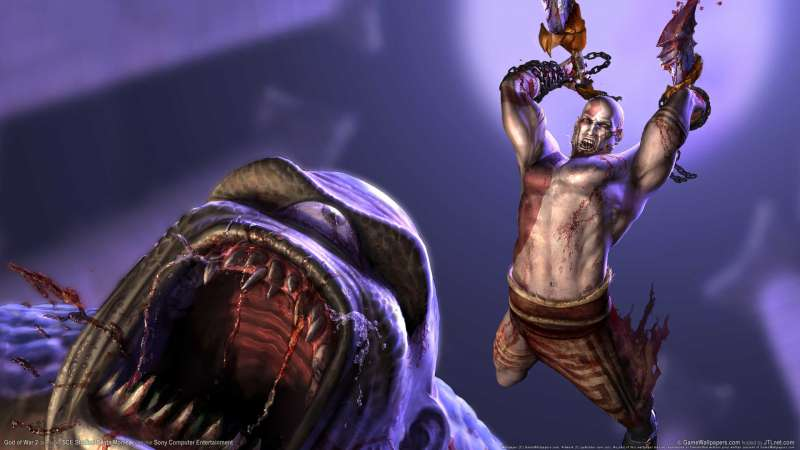 God of War 2 wallpaper or background 07