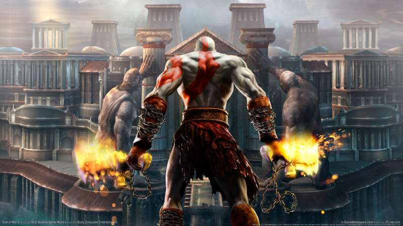 God of War 2 wallpaper or background 09