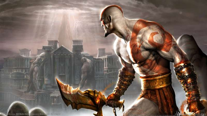 God of War 2 wallpaper or background 10