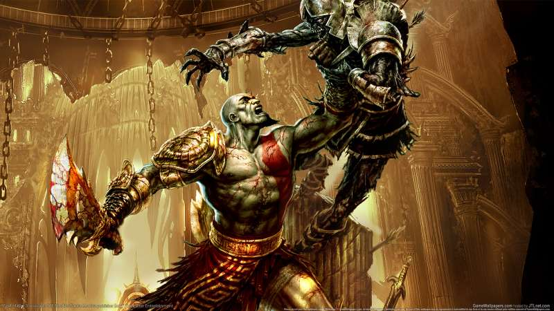 God of War 3 wallpaper or background 01