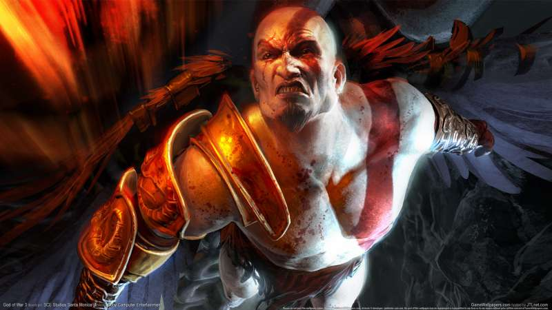 God of War 3 wallpaper or background 03