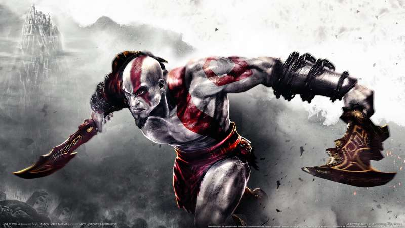 God of War 3 wallpaper or background 04