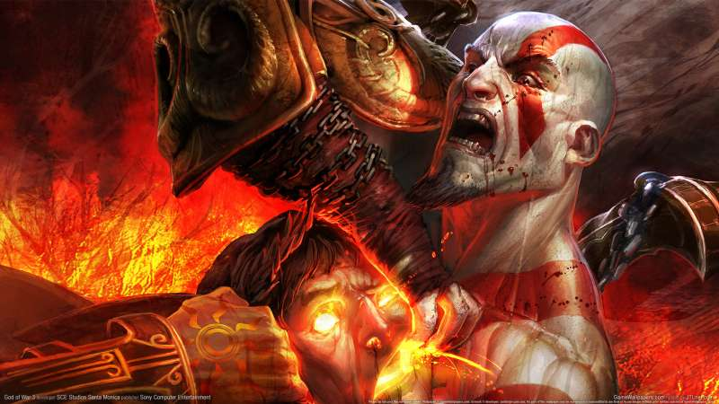 God of War 3 wallpaper or background 06