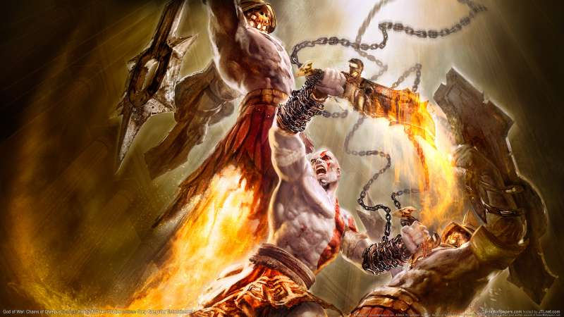 God of War: Chains of Olympus wallpaper or background 04