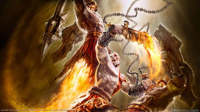 God of War: Chains of Olympus wallpaper or background