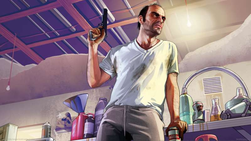 ... Grand Theft Auto 5 wallpaper or background 07