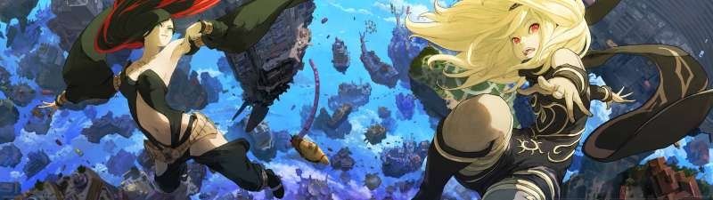 Gravity Rush 2 dual screen wallpaper or background