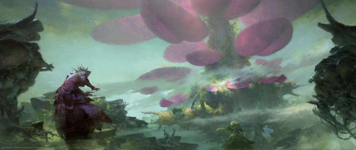 Guild Wars 2: Heart of Thorns wallpaper or background