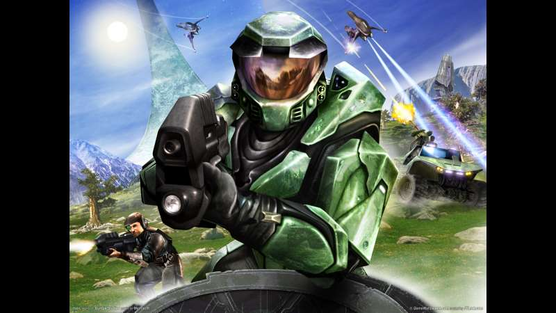 Halo wallpaper or background 05