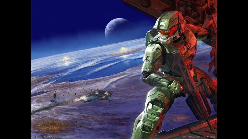 Halo 2 wallpaper or background 01