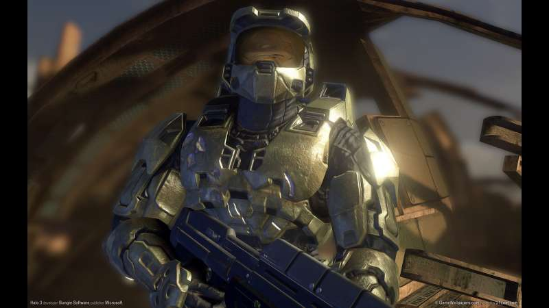 Halo 3 wallpaper or background 01