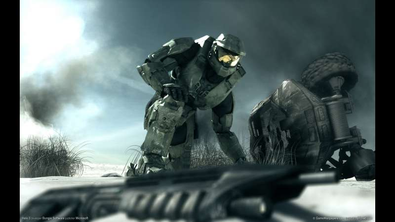Halo 3 wallpaper or background 04