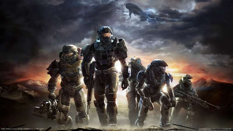 Halo: Reach wallpaper or background 01