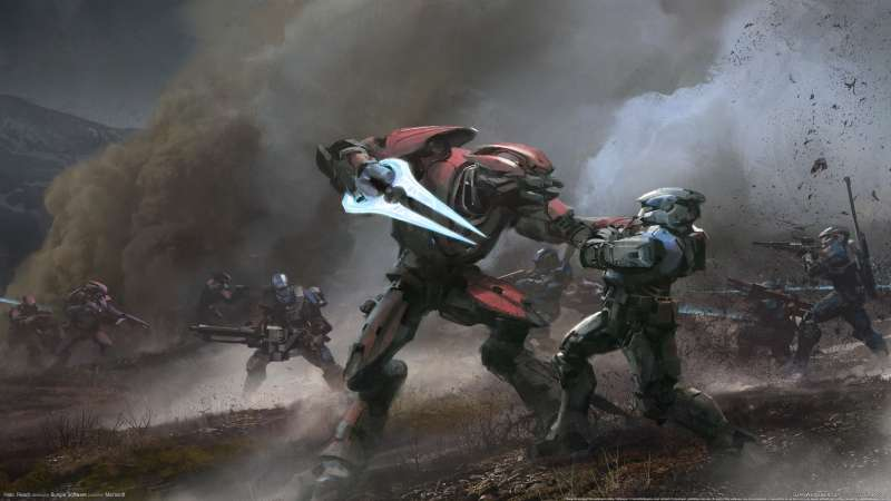 Halo: Reach wallpaper or background 04