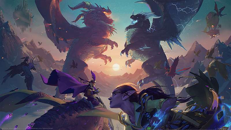 Hearthstone: Descent of Dragons wallpaper or background