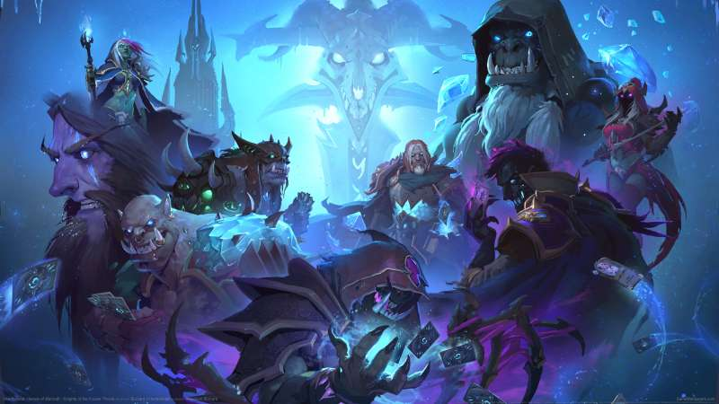 Hearthstone: Heroes of Warcraft - Knights of the Frozen Throne wallpaper or background