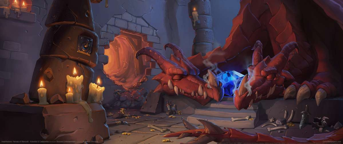 Hearthstone: Heroes of Warcraft - Kobolds & Catacombs wallpaper or background