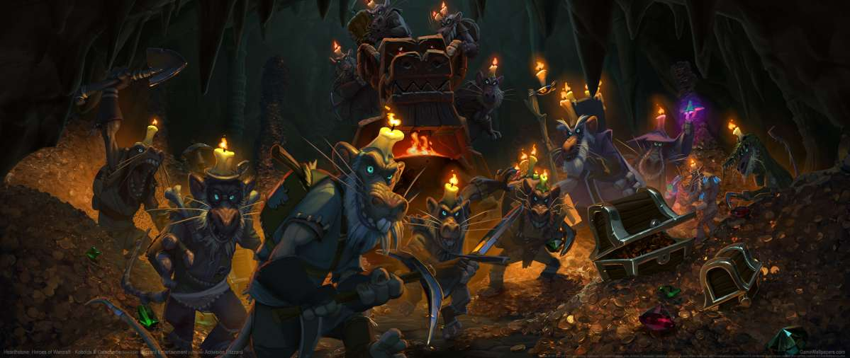 Hearthstone: Heroes of Warcraft - Kobolds & Catacombs ultrawide wallpaper or background 02